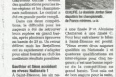 St Etienne - St Martin d'Hères, Dans la bonne vague